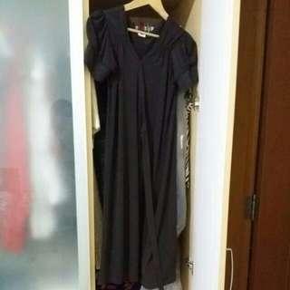 Preloved EGG wrap dress maternity Size 0