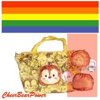 Disney Chip N Dale Foldable Tote Bag