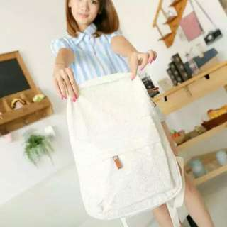 Lace Backpack For Women