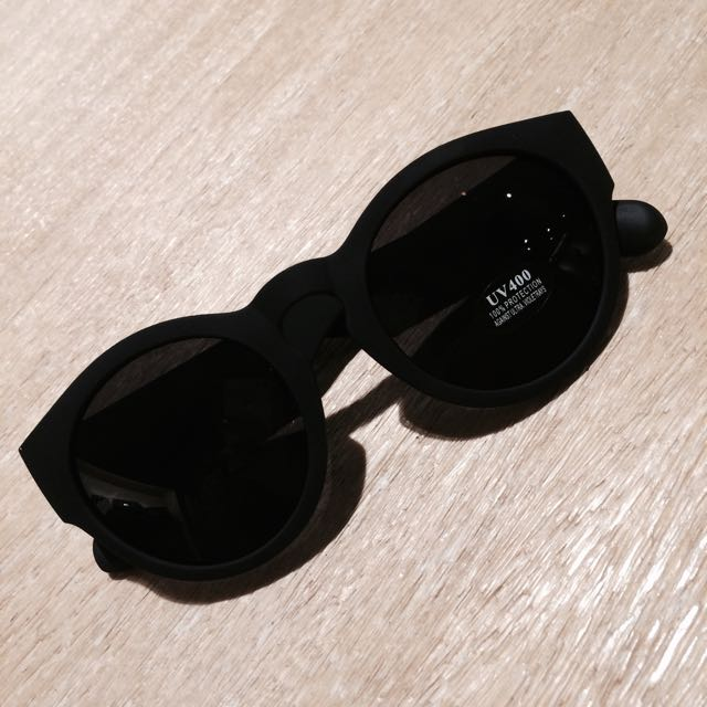 現貨❤️彈性粗邊墨鏡