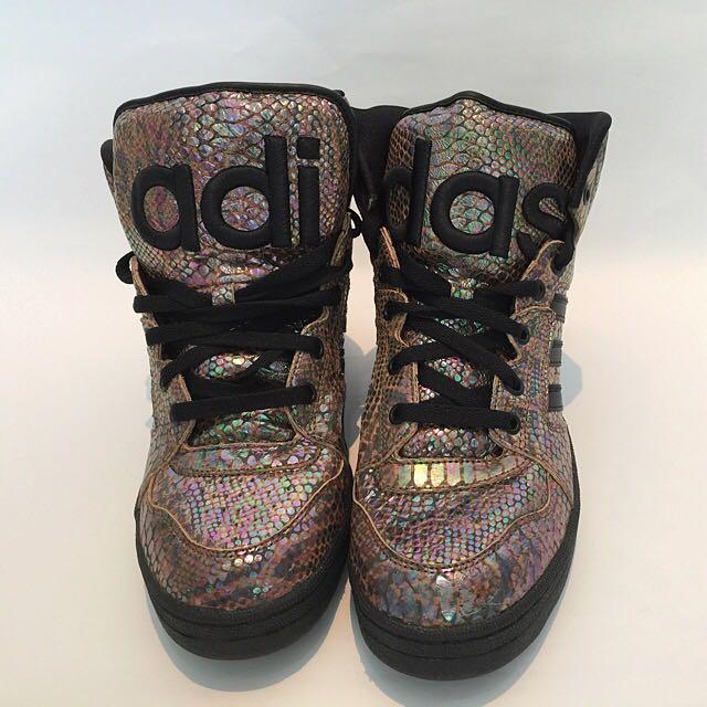 buy popular a37f8 12f57 Adidas JS Instinct High Rainbow - Jeremy Scott, Men's Fashion on ...