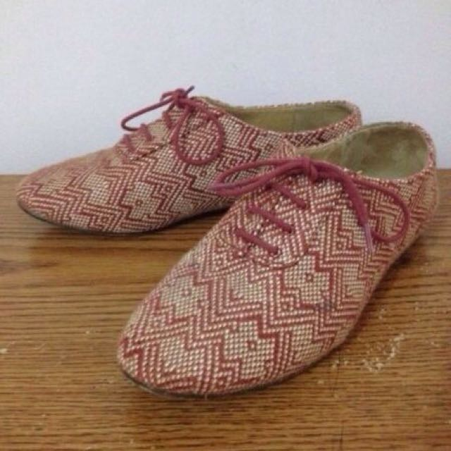 Forever 21 Bohemian Oxfords