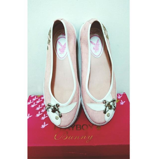 PLAYBOY粉彩娃娃鞋(保留)