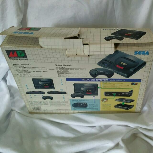 Vintage Sega Megadrive 1 16bit