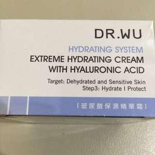 Dr. Wu 玻尿酸保濕精華霜