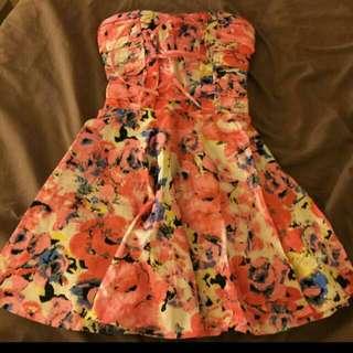 馬甲花洋裝