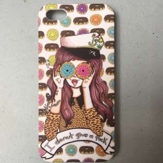 "Valfre ""I Donut Give A Fuck"" iPhone 5 Case"