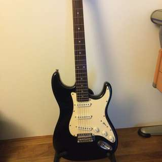Electric Guitar+ Cover + Stand