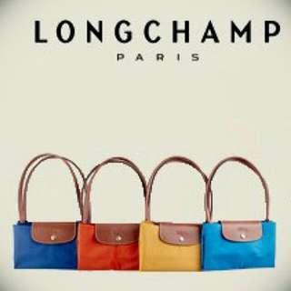 全新正品 Longchamp Le Pliage 摺疊水餃包 多色代購~