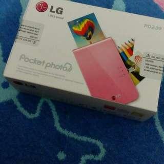 LG Pocket Photo Printer PD239 For Sale