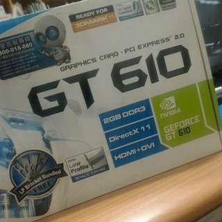 MSI 2g顯卡 N610GT