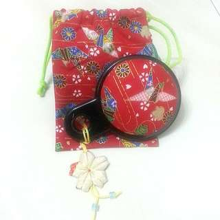 Japan Pouch With Mirror