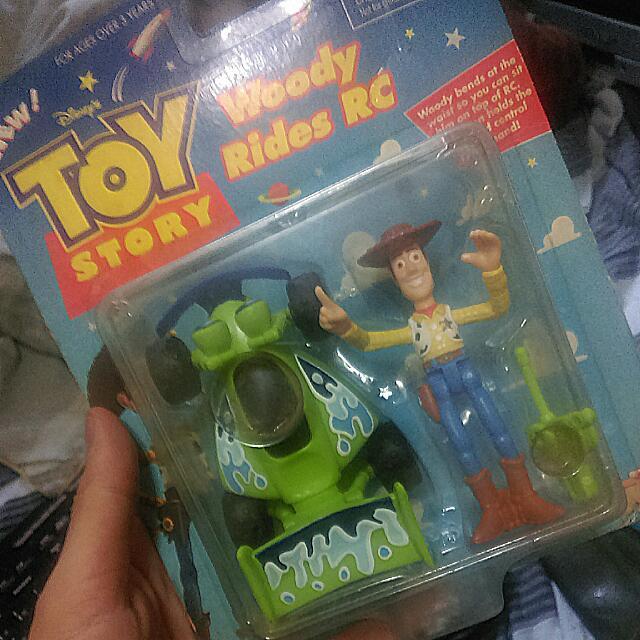 迪士尼皮克斯 玩具總動員 胡迪 已絕版
