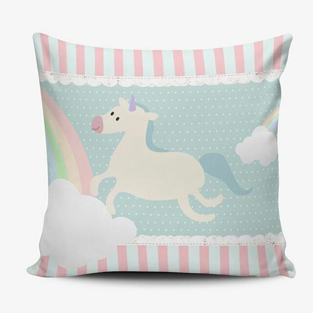 Cushion Pillow Cover Bantal Boneka & Sarung - Digital Print - Birthday Wedding Baby Gift