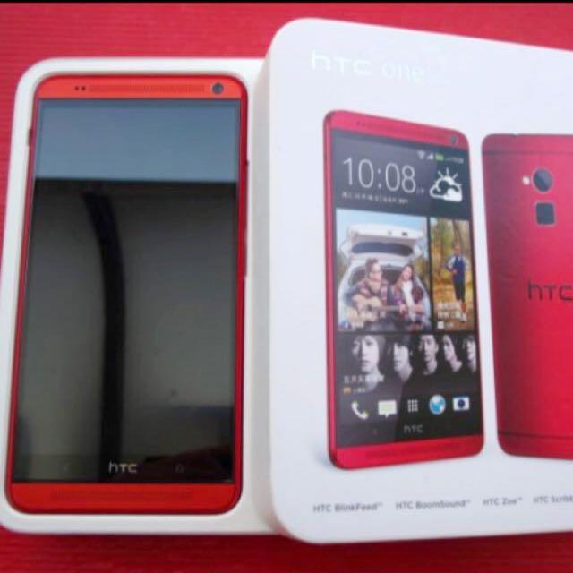 HTC ONE MEX 803s 紅色
