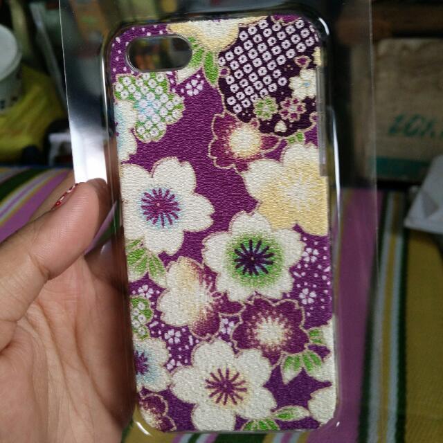 iPhone 5s Kimono Fabric Case (purple)