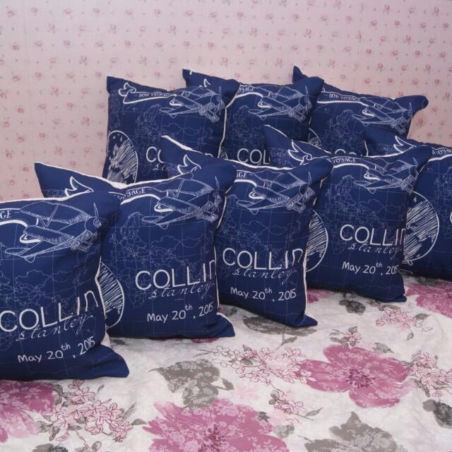 Souvenir Bantal Pillow Cushion Sarubg Bantal Kado Ulang Tahun Birthday Gift