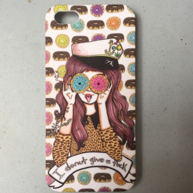 """Valfre """"I Donut Give A Fuck"""" iPhone 5 Case"""