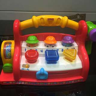 Fisher Price Laugh N Learn Learning Tool Bench