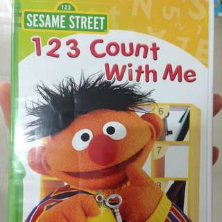 Brand New Sesame Street Count With Me 123