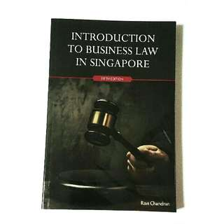 (RESERVED) BU8301 Introduction To Business Law In Singapore (BUSINESS LAW)