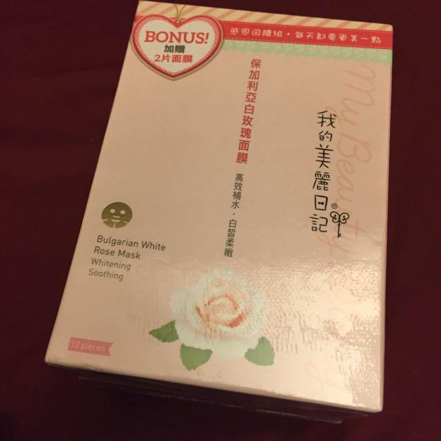 我的美麗日記-保加利亞玫瑰面膜12片裝