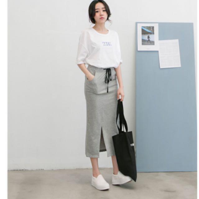 ✨全新✨知性韓版合身長裙