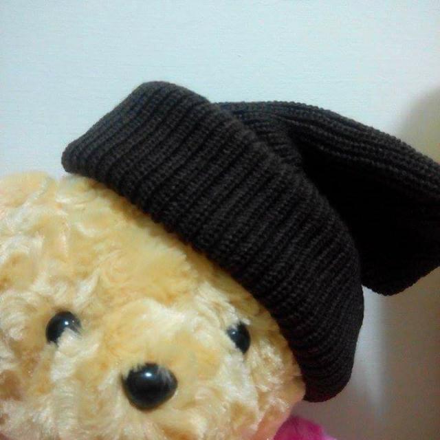 咖啡色 毛帽