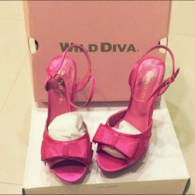 美國正品 Wild Diva 芭比高根鞋 6號
