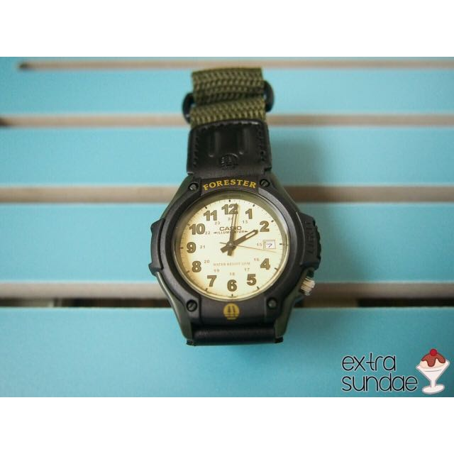Casio Forester In Green