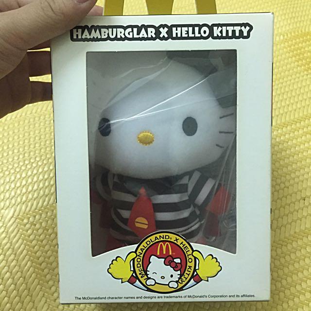 """『絕版』漢堡神偷hello Kitty """"麥當勞""""推出✅"""