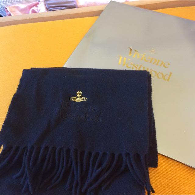 正品Vivienne Westwood 小行星 圍巾