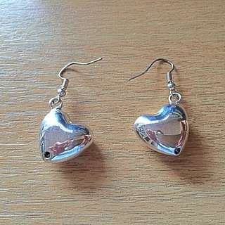heart earings-tiff&co inspired