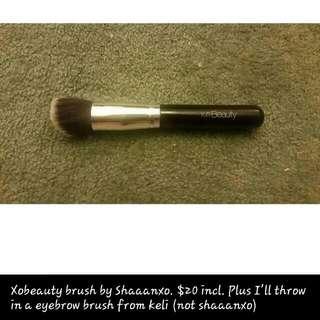 Shaaanxo xoBeauty Makeup Brush Plus Freebie