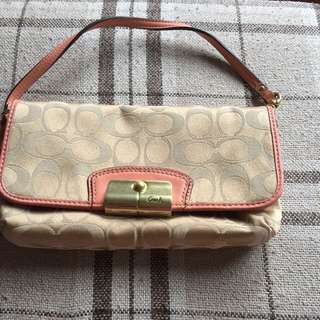 Authentic Coach Clutch Bag. Price Reduced