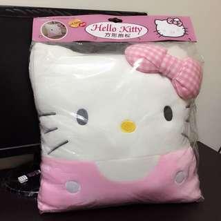 全新kitty原廠抱枕 890元