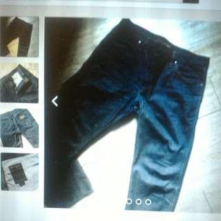 藍歌 牛仔褲