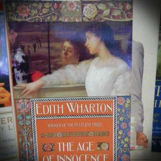 Classic book. The Age of Innocence by Edith Wharton