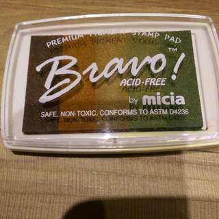 《Micia》5色漸層印台 MI-BV-D大地色系+12色單色印台