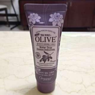 韓國橄欖油水滴護手霜