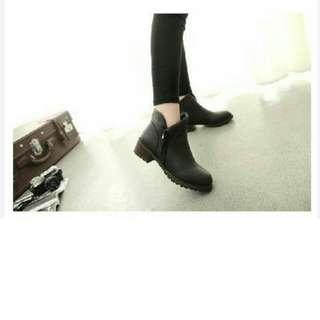 全新小安反折靴