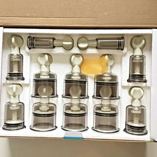 Cupping For Health. Pressure Cup. Ba Guan. Massage. Brand New!