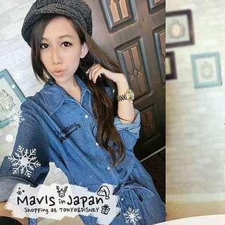 mavis牛仔連身裙