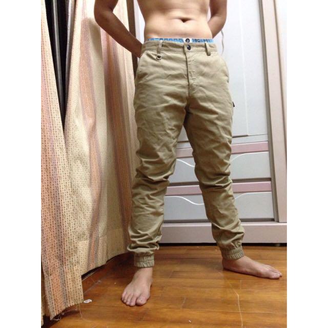 潮店束口褲