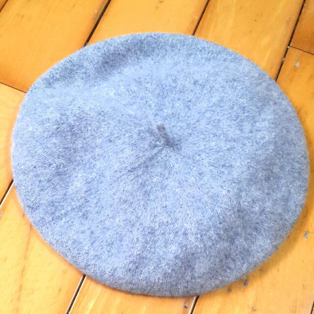 灰色畫家帽(含運)