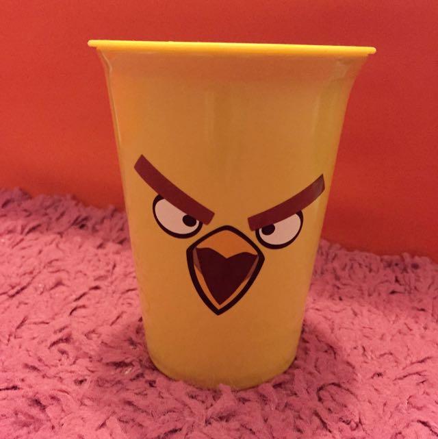 憤怒鳥 全新 附杯蓋 隔熱杯 Angry Bird