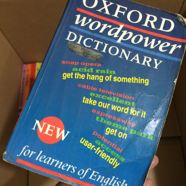 oxford wordpower dictionary  Oxford WordPower Dictionary, Books & Stationery, Textbooks on Carousell