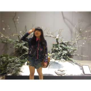 🌃星空雪紡上衣