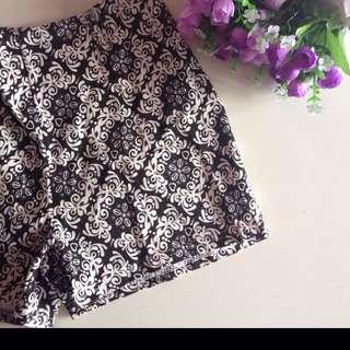 Baroque Casual Hot Shorts