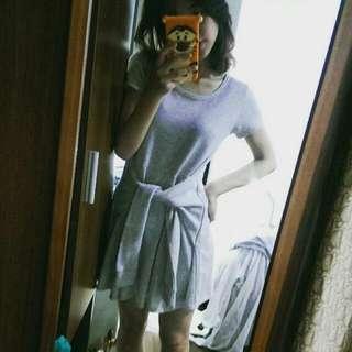 a.g.plus 日本帶回腰綁結洋裝